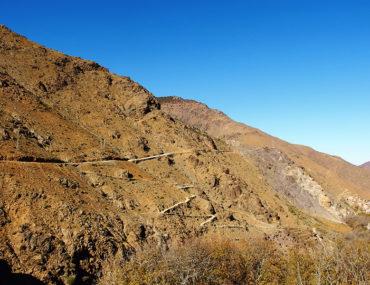 Atlas Mountains - Marrakech- Winding Path