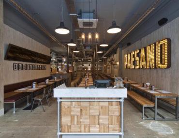 Ananyah- Paesano Pizza Interior