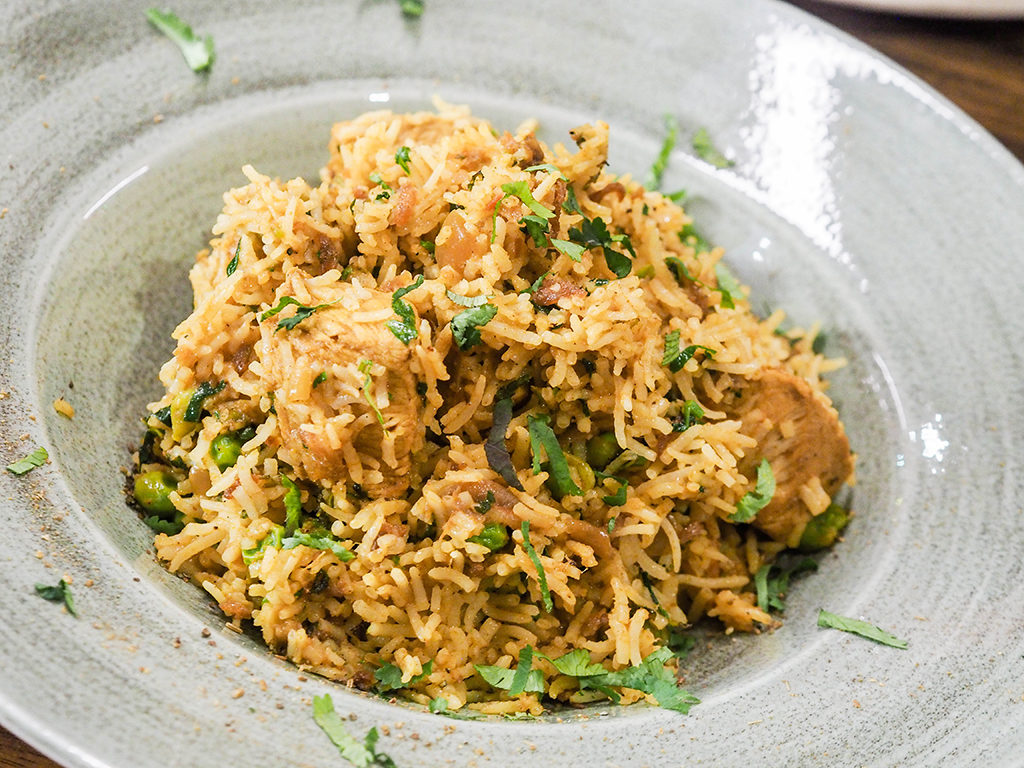 The Dhabba Glasgow- Ananyah- Chicken Biryani