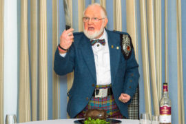 Burns Supper Asda